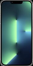 Voorkant apple iphone 13 pro max zilver