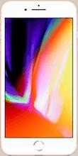 Voorkant iphone 8 plus gold