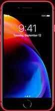 Voorkant iphone 8 plus rood