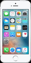 Voorkant iphone se zilver