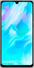 Voorkant huawei p30 lite dual sim blauw