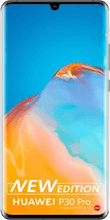 Voorkant huawei p30 pro new edition zilver