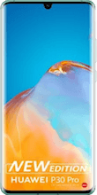Voorkant huawei p30 pro new edition blauw