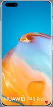 Voorkant huawei p40 pro dual sim zilver