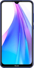 Voorkant xiaomi redmi note 8t dual sim blauw