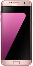 s7 edge roze voorkant