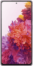 Voorkant samsung galaxy s20 fe 4g roze