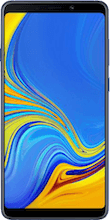 Voorkant samsung galaxy a9 dual sim blauw