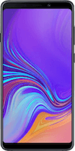Voorkant samsung galaxy a9 dual sim black