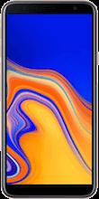 Voorkant samsung galaxy j4 plus dual sim goud