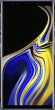 Voorkant samsung galaxy note 9 blauw