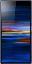 Voorkant sony xperia 10 plus blauw