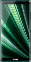 Voorkant sony xperia xz3 groen