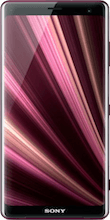 Voorkant sony xperia xz3 rood