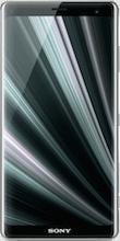 Voorkant sony xperia xz3 dual sim zilver