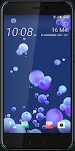 HTC U11 Dual Sim zwart voorkant