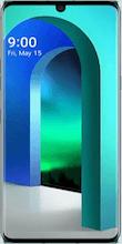 Voorkant LG velvet groen