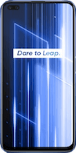 Voorkant realme x50 dual sim blauw