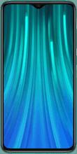 Voorkant xiaomi redmi note 8 pro dual sim groen