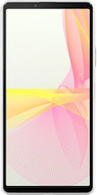 Voorkant sony xperia 10 iii wit