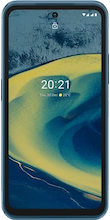 Voorkant Nokia xr20 dual sim blauw