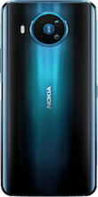 Achterkant nokia 8 3 dual sim blauw