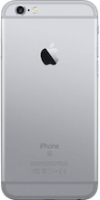 Achterkant iphone 6s space gray