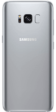 Galaxy S8 Arctic Silver achterkant