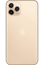 Achterkant apple iphone 11 pro gold