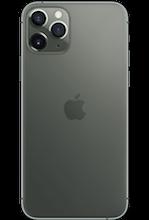 Achterkant apple iphone 11 pro max midnight green