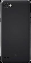 Achterkant LG Q6 black