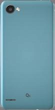 Achterkant LG Q6 Platinum