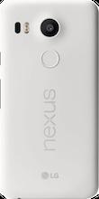 Nexus 5X wit achterkant vergelijken