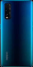 Achterkant oppo find x2 dual sim blauw
