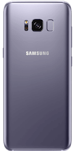 Galaxy S8 Orchid Gray achterkant