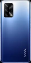 Achterkant oppo a74 dual sim blauw