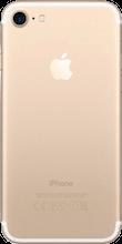 Achterkant iphone 7 gold
