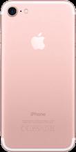 Achterkant iphone 7 rose gold