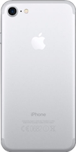 Achterkant iphone 7 silver