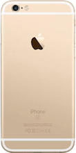 Achterkant iphone 6s gold