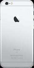 Achterkant iphone 6s zilver