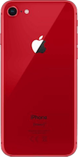 Achterkant iphone 8 refurbished rood