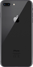 Achterkant apple iphone 8  plus space gray