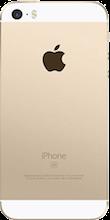 Achterkant iphone se gold