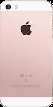 Achterkant iphone se roze