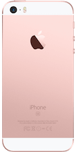 Apple Iphone se achterkant