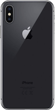 Achterkant apple iphone x space gray