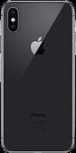 Achterkant iphone x zwart