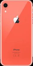Achterkant apple iphone xr oranje
