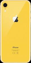 Achterkant apple iphone xr geel